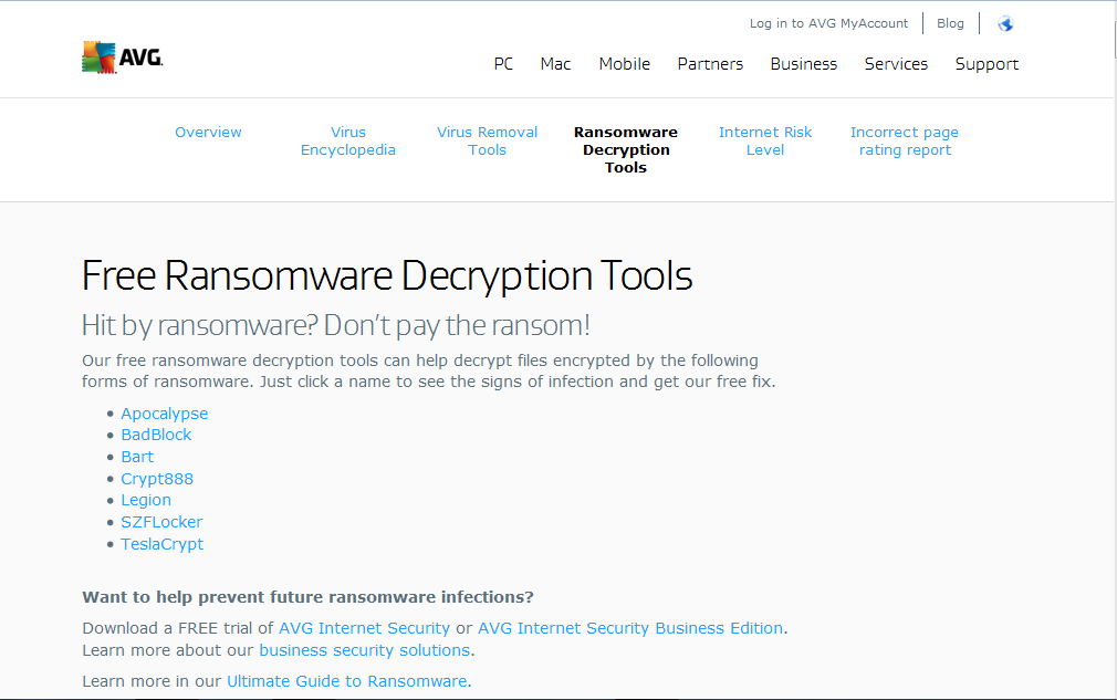 anti-ransomware tools