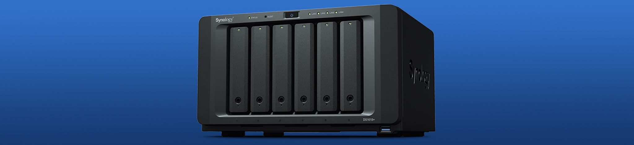 Product review: Synology DS1618+ — A server without a rack
