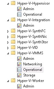 World gone wrong: Using event logs to troubleshoot Hyper-V