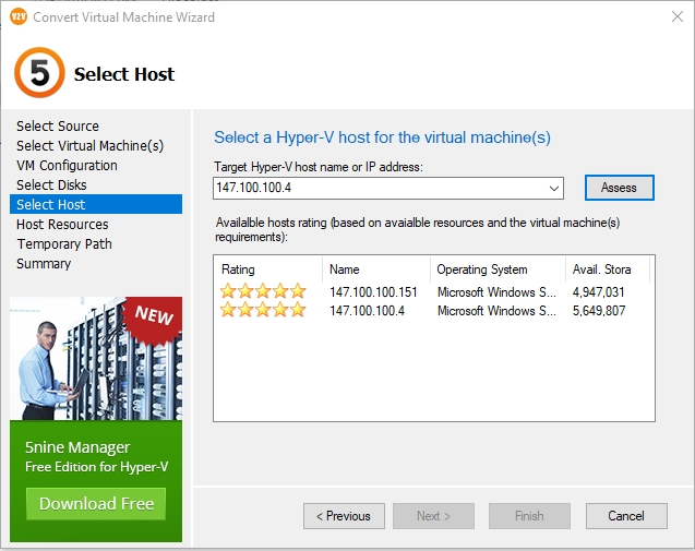 HOW TO: Convert VMware virtual machines to Hyper-V VMs