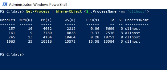 What does $_  mean in PowerShell?