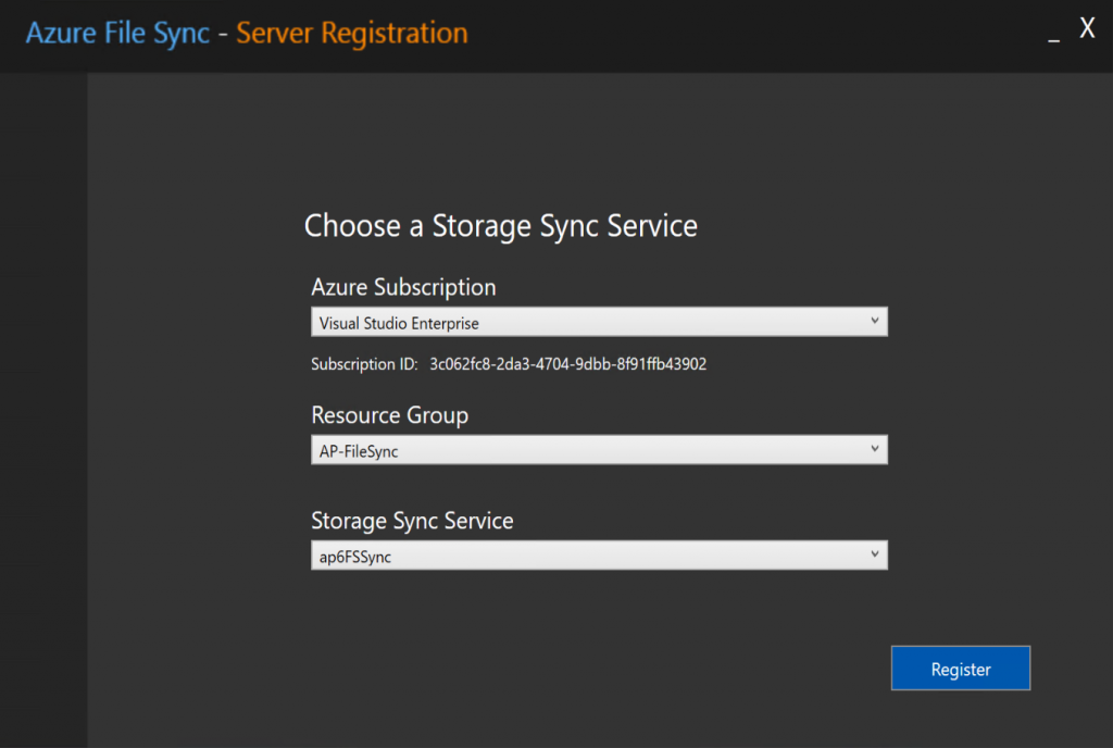 Step-by-step guide: Getting started with Azure File Sync service