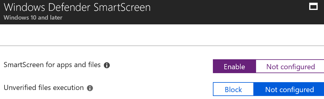 enable firewall smartscreen