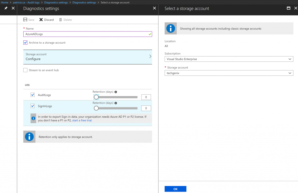 Step-by-step guide: Managing Azure Active Directory audit logs