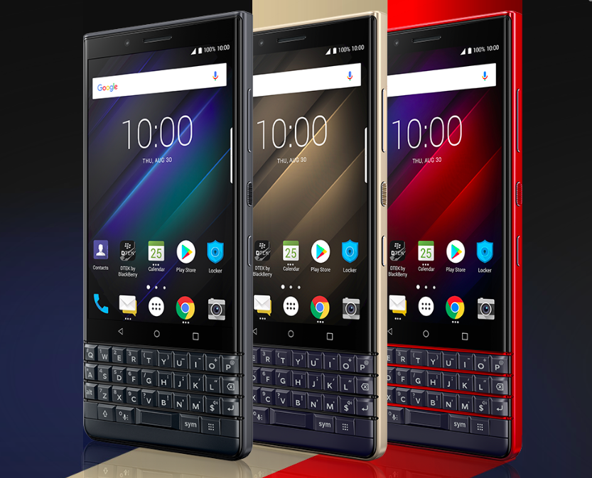 IFA 2018- BlackBerry Key 2 LE