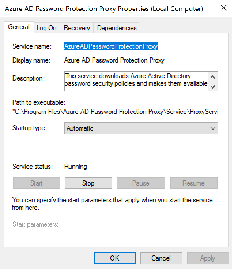 Active Directory password protection