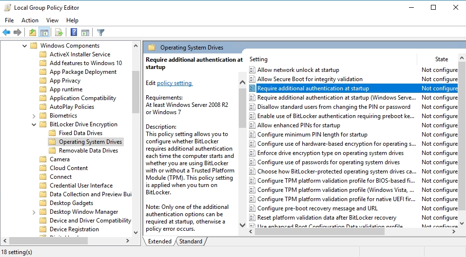 Yes, you can: Enabling BitLocker encryption for Generation 1