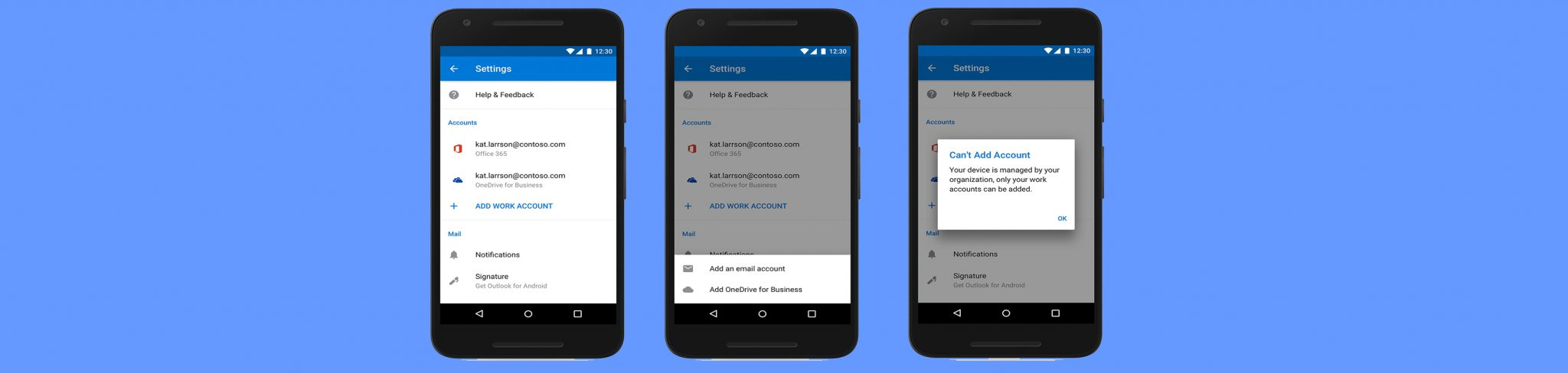 Outlook mobile getting new security and management features