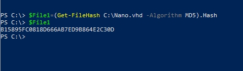 file hashes
