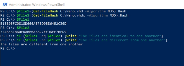 Do it the easy way: Working with file hashes in PowerShell