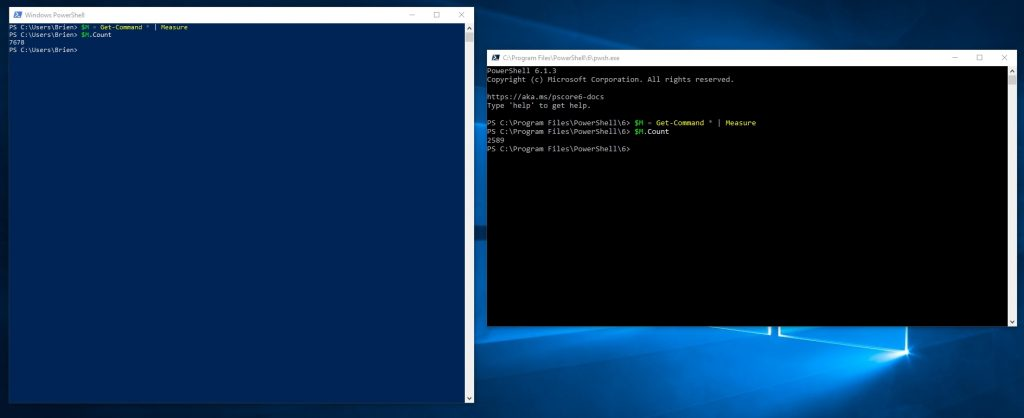 PowerShell Core vs  PowerShell: What are the differences?