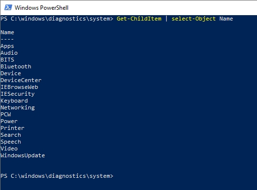 PowerShell troubleshooting