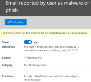 phish or malware reported
