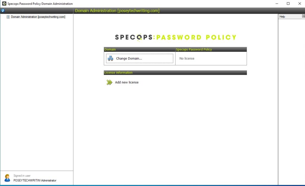 Specops Password Policy