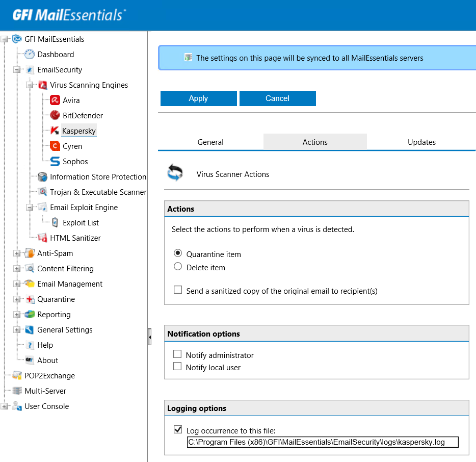 Review: Email security software GFI MailEssentials