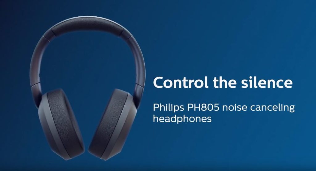 Noice-canceling headphones- Philips PH805