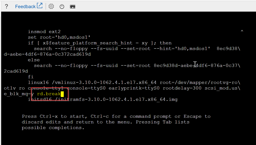 Azure Linux recovery tools