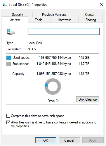 replacing HDD with SSD