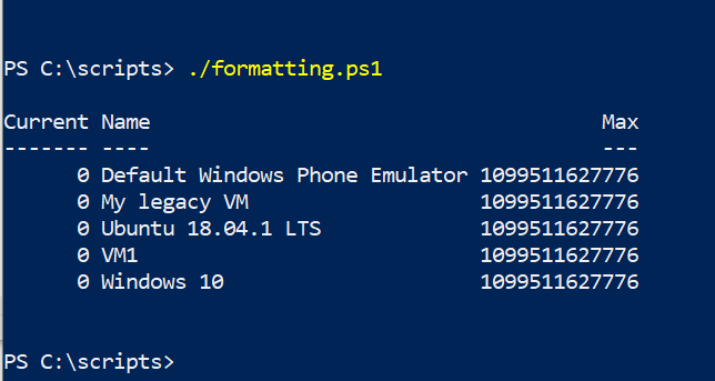 Fixing PowerShell output formatting problems