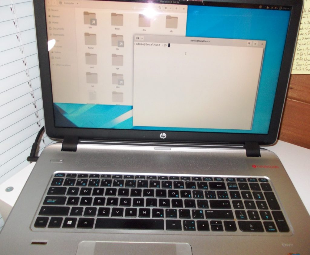 Fedora Linux on HP Envy laptop