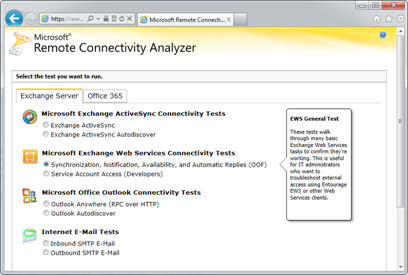 Using the Hybrid Configuration Wizard in Exchange 2010