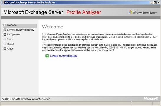 A look at the Microsoft Exchange Server Profile Analyzer