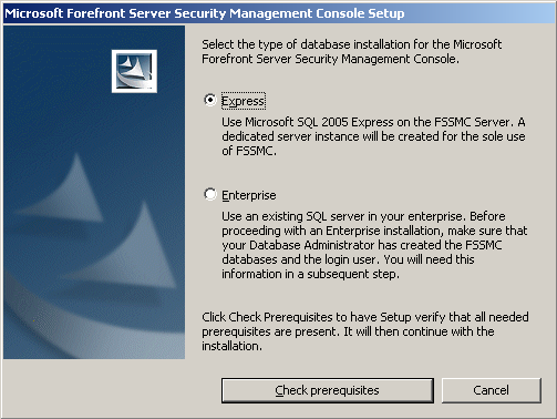 Using Microsoft ForeFront Server Security Management Console