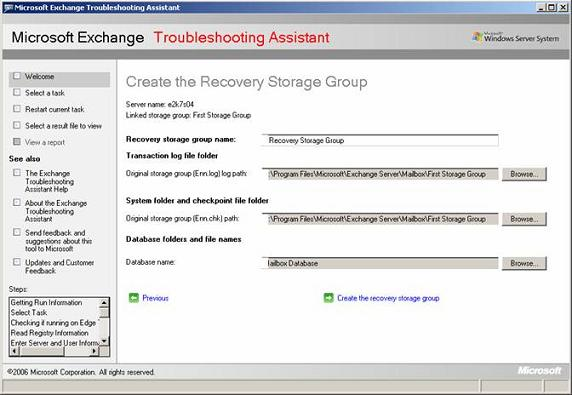 How to backup and restore exchange server 2007 storage ...