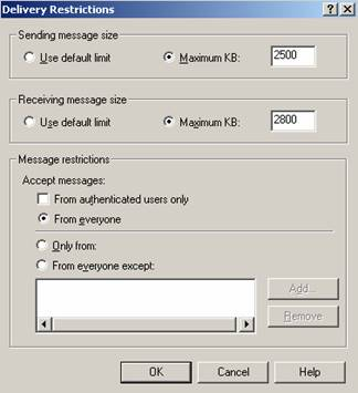 How to Set Size Limits for Messages - TechGenix