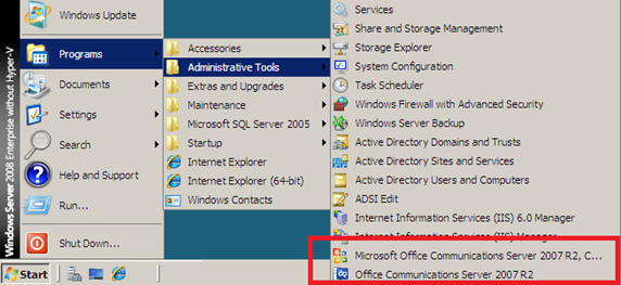 Deploying Exchange Server 2007 and Office Communications