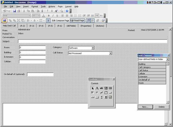 designing outlook forms part 1