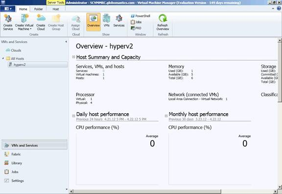 System Center 2012 Virtual Machine Manager (Part 4