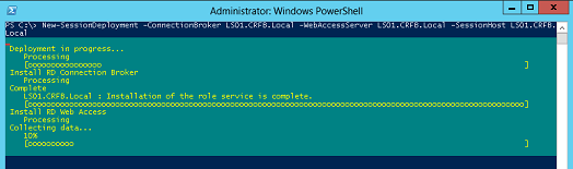 Using PowerShell to control RDS in Windows Server 2012 (Part 1)