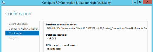 Taking a closer look at RD Connection Broker High