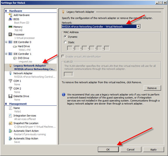 Hyper-V Integration Services Requires a Newer Version of