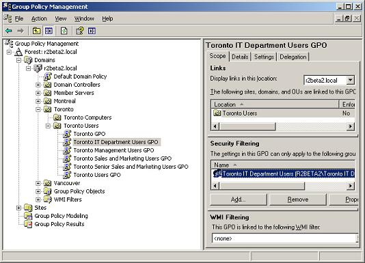 How to Implement Group Policy Security Filtering