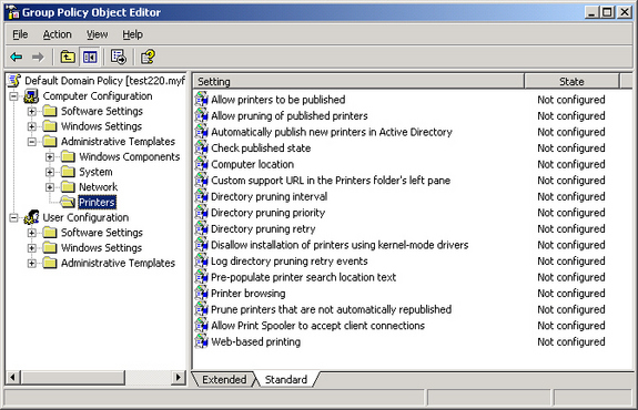 directory printer freeware
