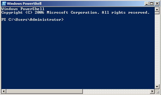 Using Windows Server 2008 Powershell to perform common network ...