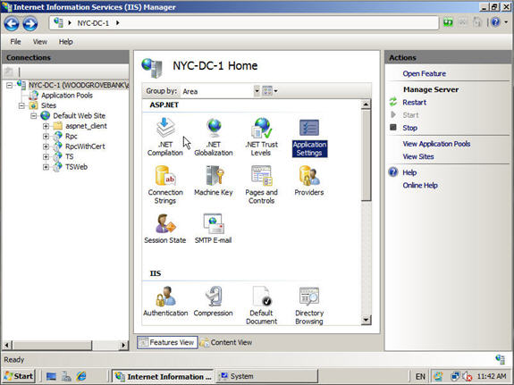 windows web server