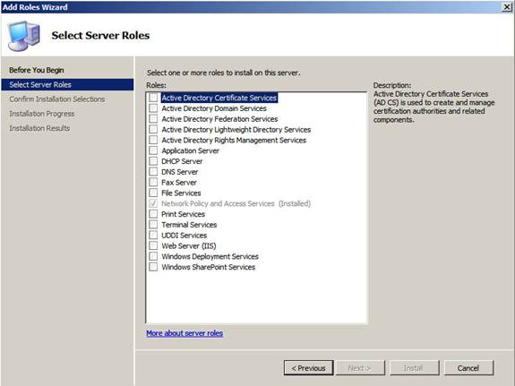 Using the new Windows Server 2008 Servermanager exe CLI tool