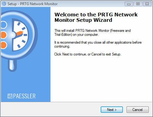 Monitoring Network Performance with PRTG free edition