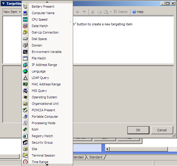 Group Policy Preferences: Top 5 Item-Level Targeting Options