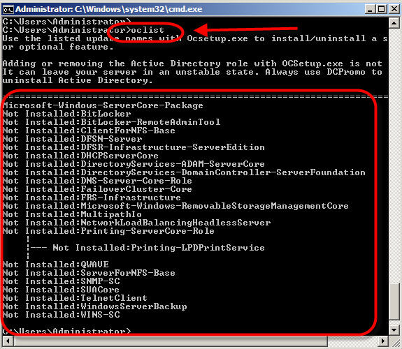 how to find number of cores in windows server 2008