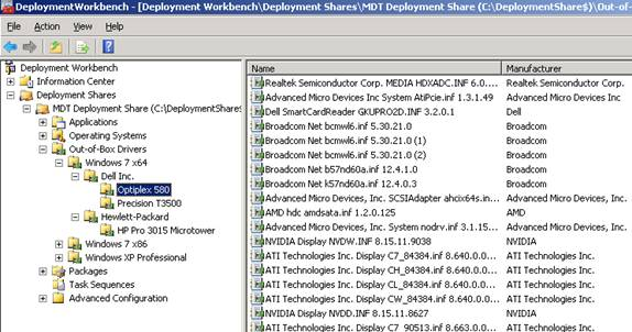 Deploying Windows 7 - Part 26: Managing Drivers – By Make and Model