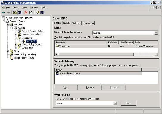 Deploying Printers With Group Policy in Windows Server 2003 R2