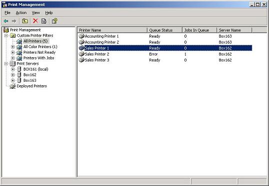 active directory printers disappear
