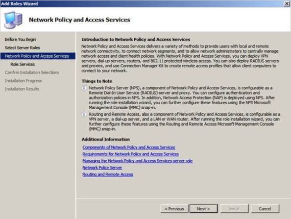 how to open network policy server