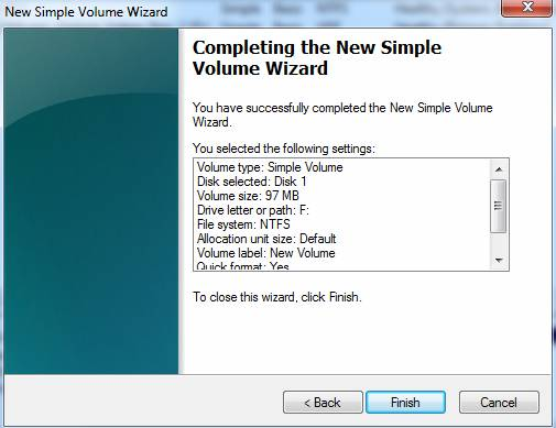 Creating, Attaching, and Mounting VHD Files in Windows 7 and Windows