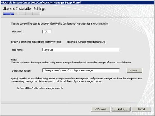 Introduction to Configuration Manager 2012 (Part 1)