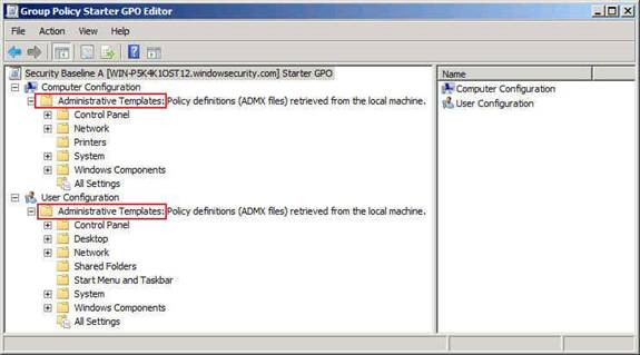 Group Policy related changes in Windows Server 2008 - Part 1